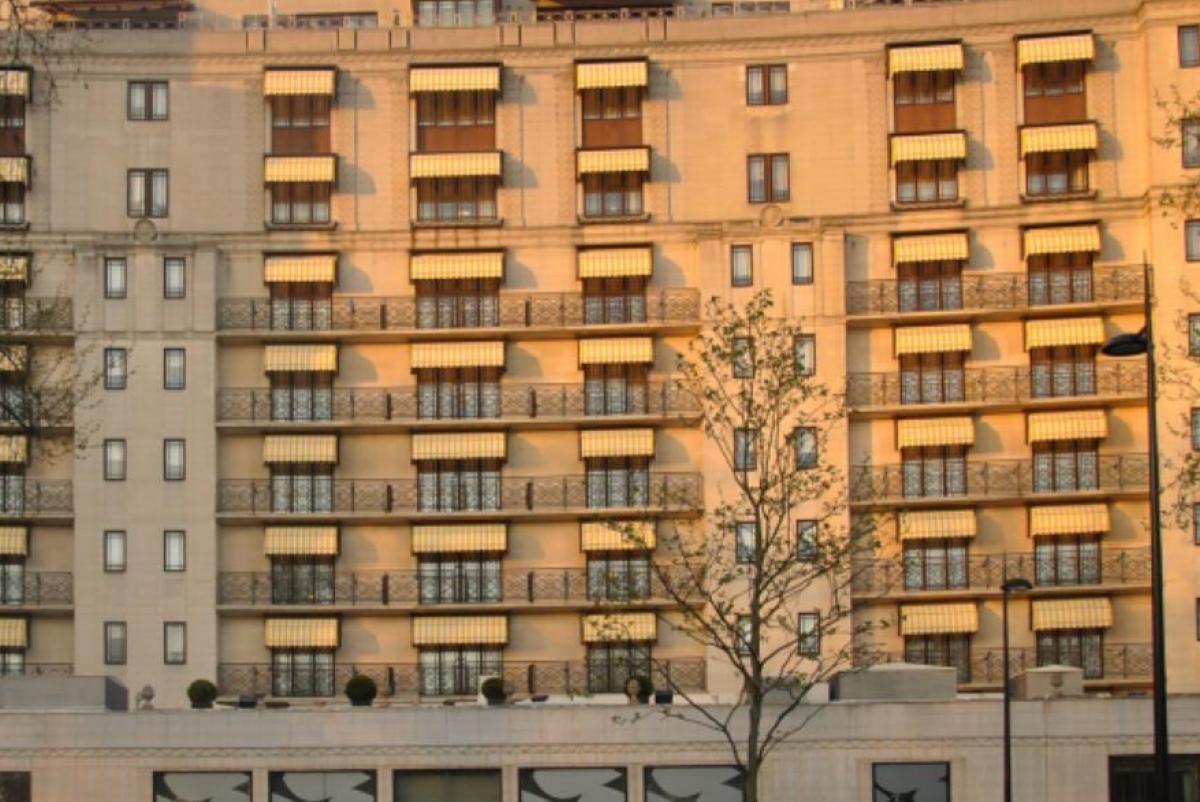 Reducing Heat Gain at The Dorchester