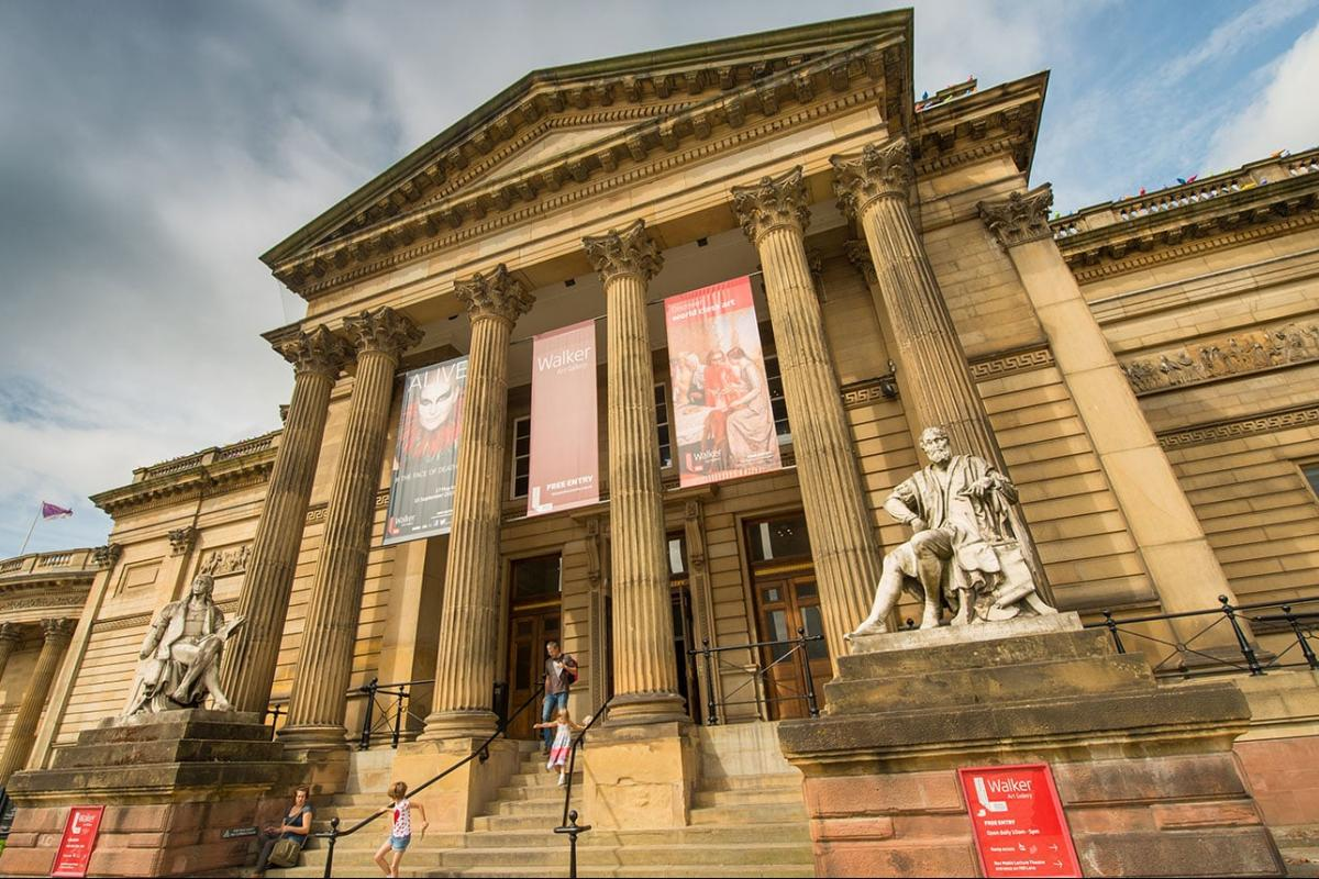 Anti-Fade Window Film for the Walker Art Gallery